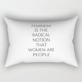 Feminism | Sexism Feminine Gender roles girls Gift Rectangular Pillow