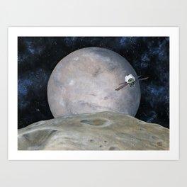 Discovering Mars Art Print