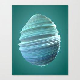 Whisked Egg Canvas Print