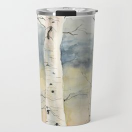 Tender Birch Forest Travel Mug