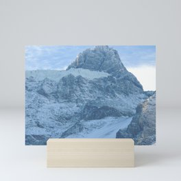 Los Andes |  Snow in mountains |  Landscape Photography Mini Art Print