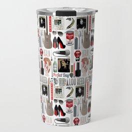 A tribute to Lou Reed Travel Mug