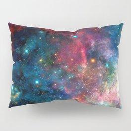Cosmic Connection, Galaxy, Space, Nebula, Stars, Planet, Universe, Pillow Sham