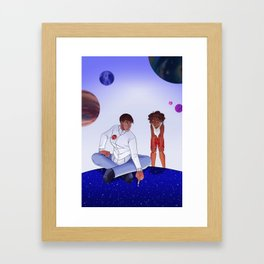 People From the Stars Framed Art Print