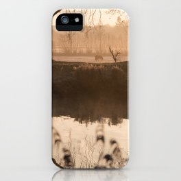 The Early Bird Captures The Shot iPhone Case