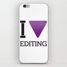 [ i love editing ] iPhone Skin