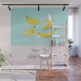 Flying Banana Wall Mural