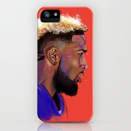 Odell Beckham Jr. iPhone Case