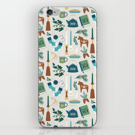 A Very Hygge Holiday iPhone Skin