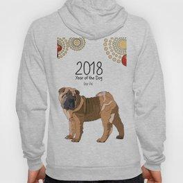 Year of the Dog Shar Pei Hoody
