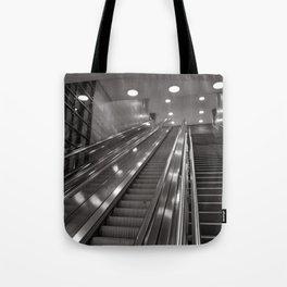 Underground station - stairs - Brandenburg Gate - Berlin Tote Bag