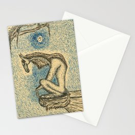 The ghost hourse Stationery Cards