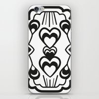 gatsby iPhone & iPod Skins featuring Gatsby Romance by AniNers