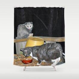 Frenemies Shower Curtain