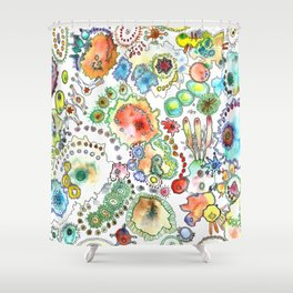All the Small Things Shower Curtain