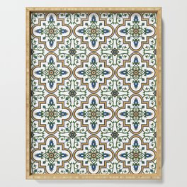 Spanish Tile Pattern – Andalusian ceramic from Seville Serving Tray