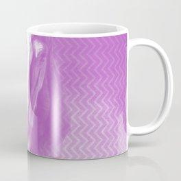 Horse emerging from the purple mist Coffee Mug