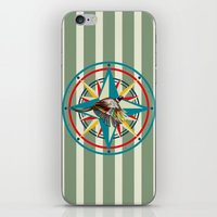 not all those who wander are lost iPhone & iPod Skins featuring Not all those who wander are lost by milanova