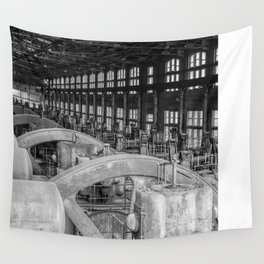 Old Steel Wall Tapestry