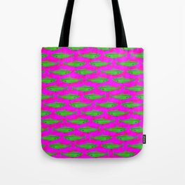 Bright Fish Pattern Tote Bag