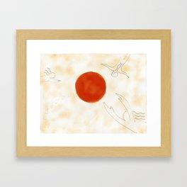 Dream Fragments Framed Art Print