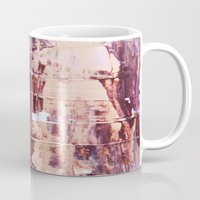 burgundy Mugs featuring Burgundy by Charlotte Chisnall