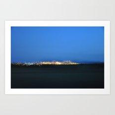 Traveling Lights Series No.2 Art Print
