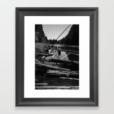 Witch's Bog II Framed Art Print
