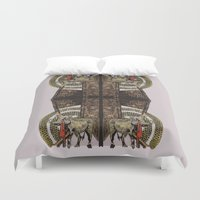 gore Duvet Covers featuring Gore by Smokacinno
