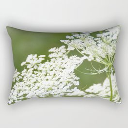 Sweet Queen Anne's Lace Rectangular Pillow