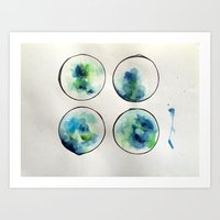 Seabites 5 Art Print