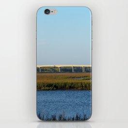 Bridge View From The Island iPhone Skin