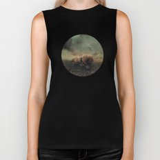 Besetting sin of progress Biker Tank