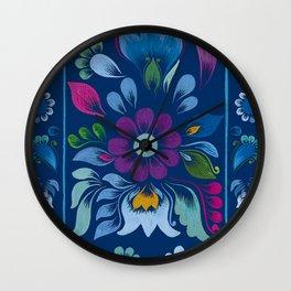 Retablo Azul Wall Clock