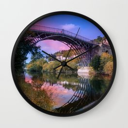 Iron Bridge 1779 Wall Clock