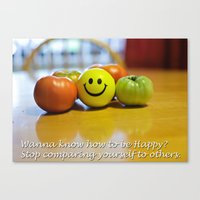 motivation Canvas Prints featuring Motivation by John Niehaus