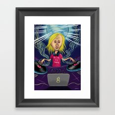 David Guetta Framed Art Print