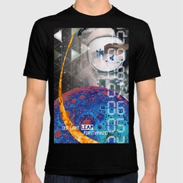 Giant Leap collage T-shirt