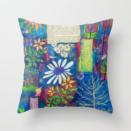 A Place of Contentment Throw Pillow