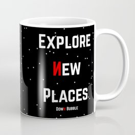 Where No Octopus Has Gone Before Coffee Mug