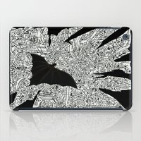 gotham iPad Cases featuring Over Gotham by Matt Larsen