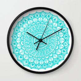Sand Dollar-Blue Wall Clock