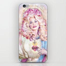 Saint Dolly Parton iPhone Skin