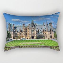 Biltmore Mansion Estate Asheville North Carolina Rectangular Pillow