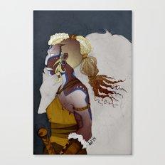 Wolf Warrior Canvas Print