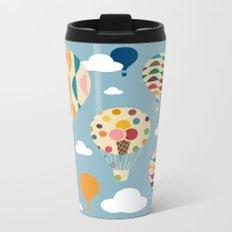 hot air ballon Metal Travel Mug