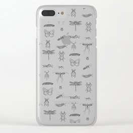 Bugs and insects Clear iPhone Case