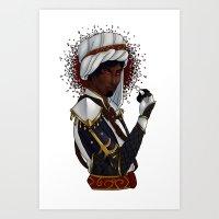 Black Prince Art Print