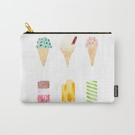 ice cream selection Carry-All Pouch
