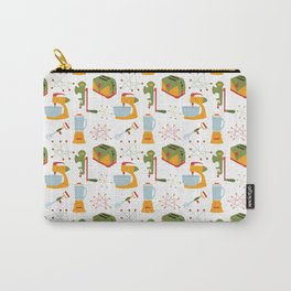 Retro Kitchen - Orange and Green Carry-All Pouch